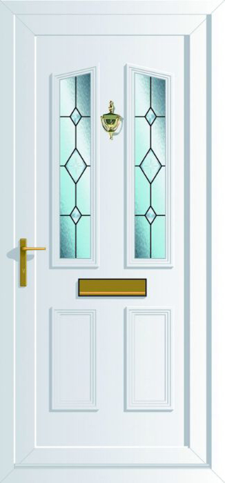 Windsor 2 with Bevel Cluster Glass